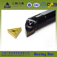 CNC lathe boring bar different types of M type S type for internal turning tool holder with carbide inserts
