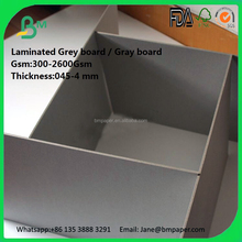both side smooth paper grey board triplex board paper for arch file