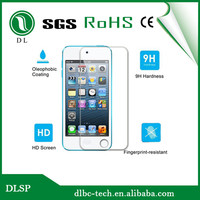 Tempered glass film for ipod touch 5 Premium tempered glass screen protector