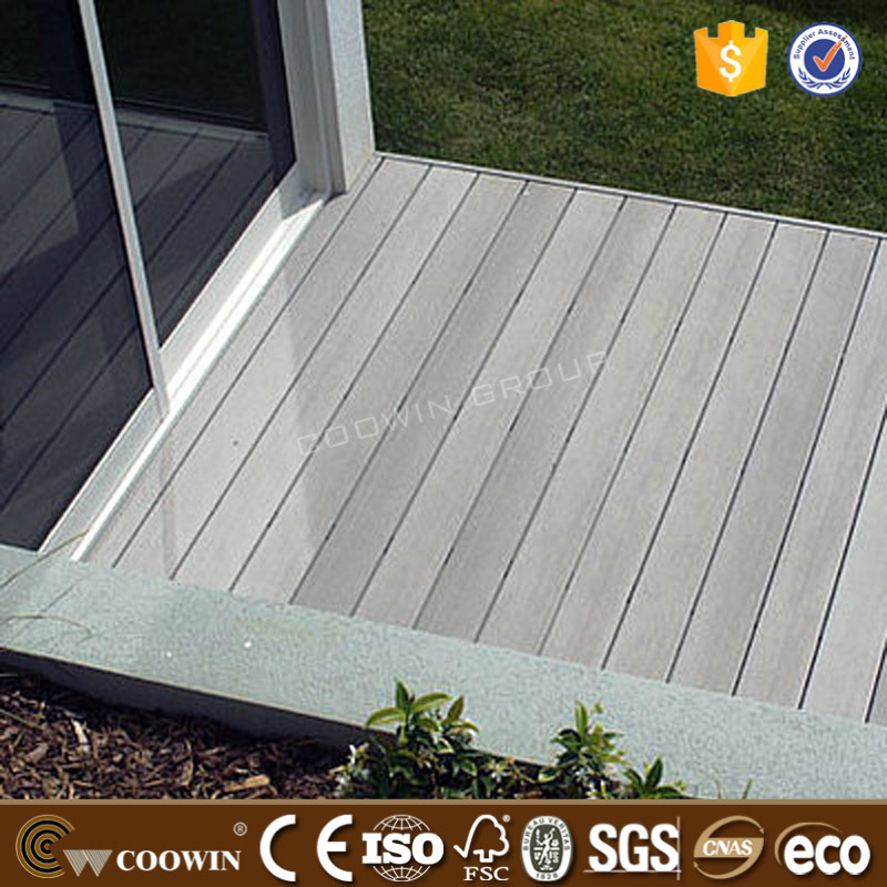 No staining, painting or sealing composite decking boards