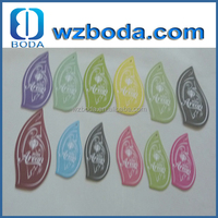 hot sale cheap price mini glass perfume bottles shape atomizer paper air freshener