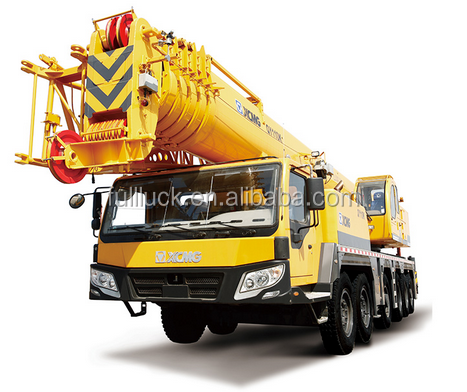 Pickup truck crane with cable winch crane truck with flatbed