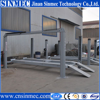 Sinmec four post vehicle lift/4 post hydraulic car park lift for sale SMCY4J-4000