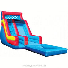 Inflatable BACKYARD WET & DRY SLIDE WITH POOL