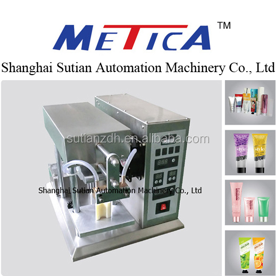 MTDF-20B Semi auto ultrasonic soft tube sealing machine/manual facial cleanser sealing machine