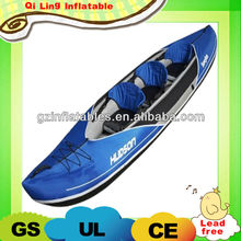 advertising inflatable kayak boat with 3 seats