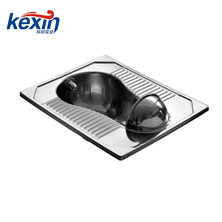 stainless steel squatting pan