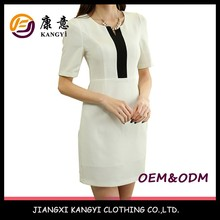 Women Office Casual Dress,Western Style High End Dress