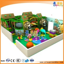 kid indoor amusement equipment with palm tree