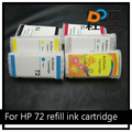 130 280ML large format refillable ink cartridge for HP 72,T610 T620 T770 T790 T1100 T1120 T1200 T1300 T2300 for HP cartridge