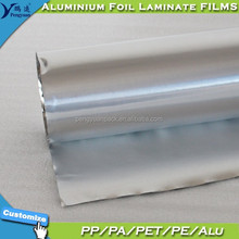 Gold or Silver Heat Sealing Aluminum Foil PET for Food and Pharmaceutical Heat Sealing Packaging Lids Bags Pouches