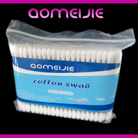 wooden applicator alcohol cotton swabs