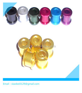 titanium chain ring bolt color