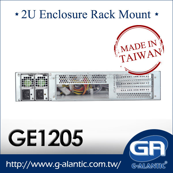 GE1205 - 2U 19 Rackmount Chassis With 8 Bays Hot Swap in Stock