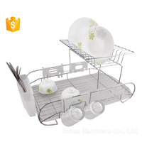 Double Tiers Chrome Plating Plate Drying Rack