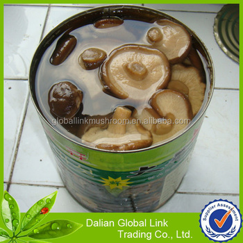 2017 High quality Shiitake mushrooms in tin