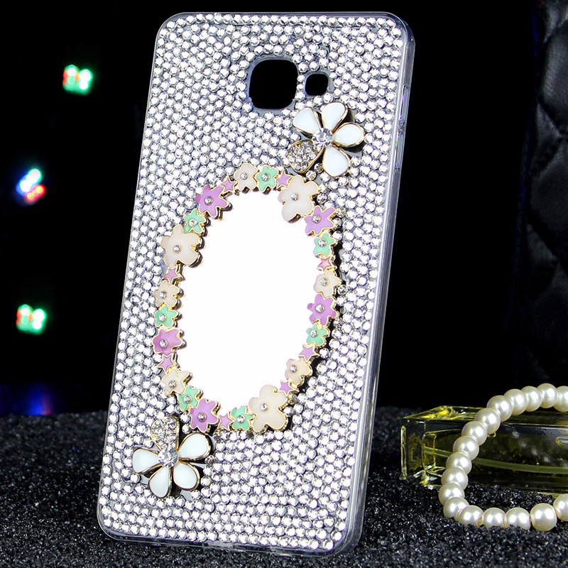 oem girl luxury mirror phone case cover for samsung galaxy a5