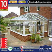 High Quality Modern Style Aluminium Glass Garden House made in China