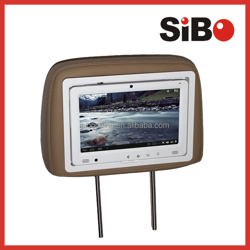 SIBO 9 inch touch panel tablet with 3G and geographical location for car/taxi