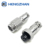 Silver Aviation Plug 4Pin 16mm GX16 Metal Male Female Panel Mount Connector