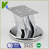 Furniture Accessories Chrome Plated Metal Sofa Legs