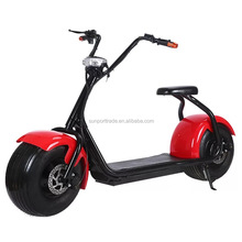 Sunport cheap electric bicycle motor petrol scooter 48V 1000W citycoco Beach dropshipping Electric scooter