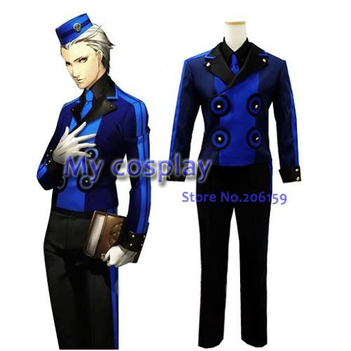 Persona 3 TEODOA Men's Cosplay jaket suit  kits Costume halloween costume for men Japanese anime costume