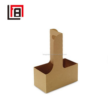 High Bottle Corrugated Paper Box Cup Holder Cup Carrier for Wholesale