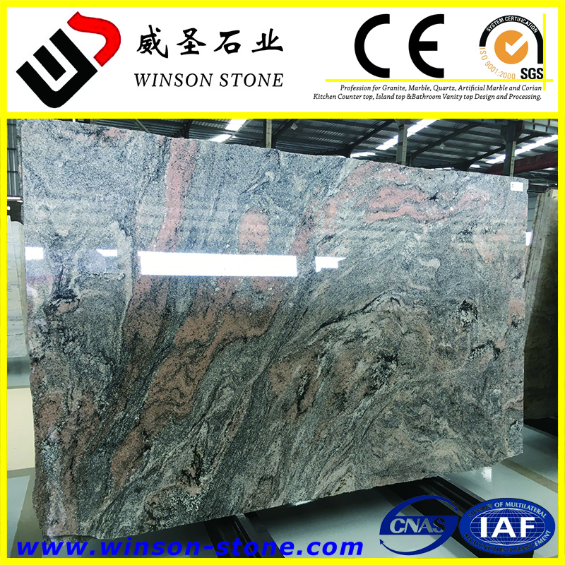 colombo juparana granite big dimensions slab ,Polished 1cm granite slab