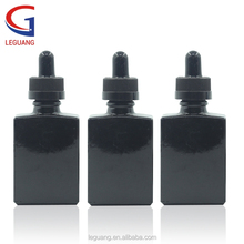 48 hours delivery green clear black amber childproof square glass dropper bottle with 15ml 30ml