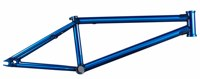 Clip3 Cromoly 4130 Butted Trans Blue BMX Frame bmx racing bikes