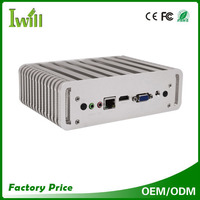 Mini pc dual nic intel Haswell 5200U computer for industrial