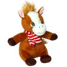 lovely cute small baby plush horse stuffed soft toys 2013 new style