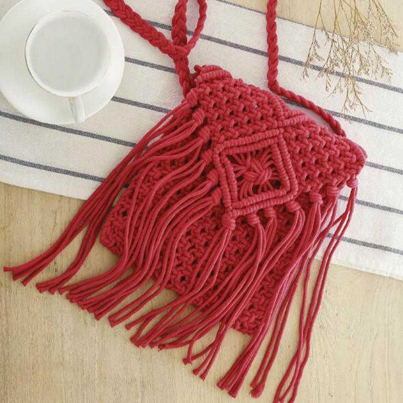 Шнур для вязания сумок 45