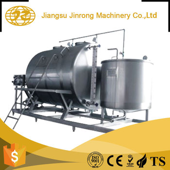 new brand High speed 2018 semi Automatic Stainless Steel cip system cleaning plant machine