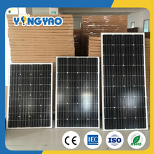 Best price and high efficiency 12v 3w to 300w monocrystal wholesale solar panels for sale