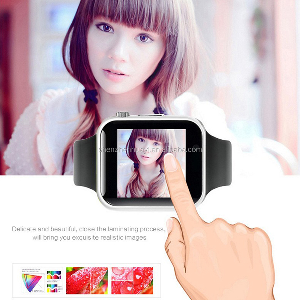 China Factory Price Hot Sale A1 2G Unlocked GSM Android Hand Smart Watch Phone