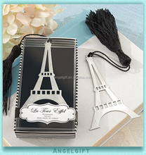 Wedding Return Christmas Baby Shower Gifts Tour Eiffel Tower Metal Bookmark