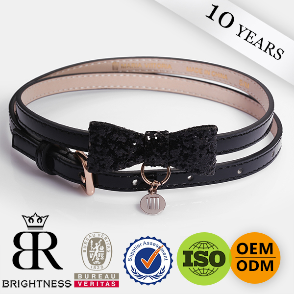 Fashion Women PU LeatherPersonalized waistband Fashion leather belt with high quality