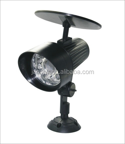 12 LED outside solar lights Wall Mount or Stake in Yard garden (JL-3534)