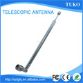 Aluminum Whip bnc UHF+VHF Handheld Foldable Telescopic transmitter Antenna for tv and radio