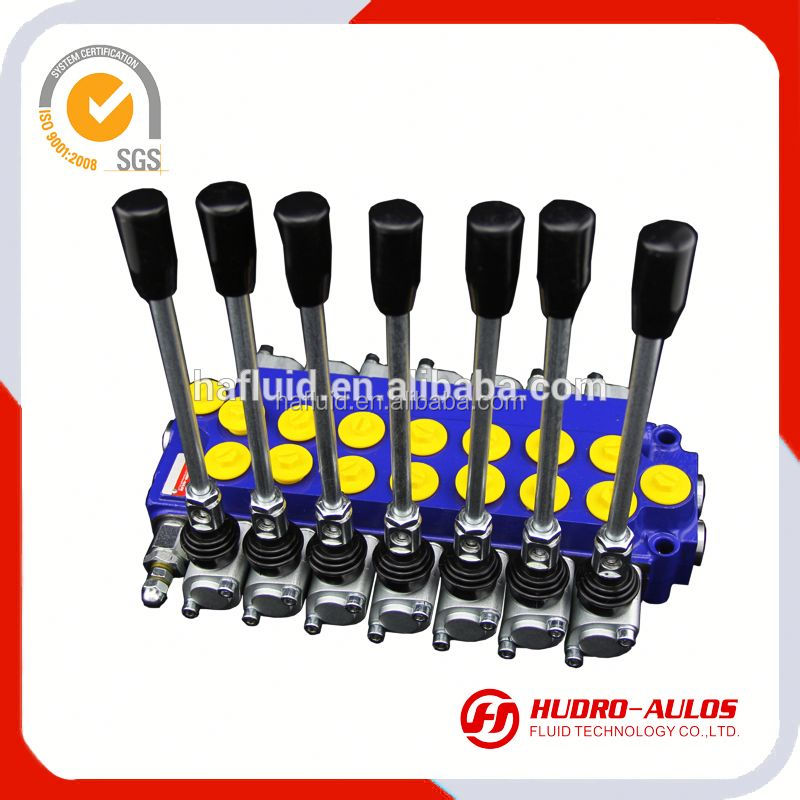 64Zhydraulic control valve / 2 working sections / forklift spare parts