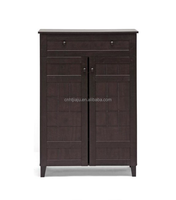 Hot Sale High Quality Modern Wood Shoe Cabinet