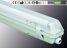 IP65 18W/36W/58W ISO9001/CE/ROHS/GS/BSCI light fixture with electrical outlet