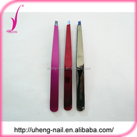 Wholesale products china esd stainless steel eyebrow tweezer
