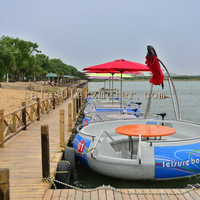 Environmental electric tourist boat with CE certificate