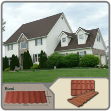 maintenance free roofing materials stone coated metal roof tiles steel roofing tiles