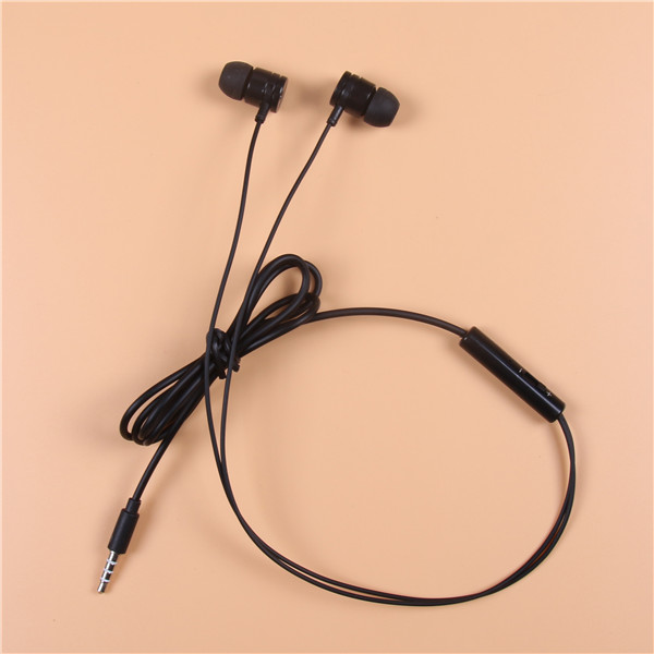 New Arrival Braid Wire Earphone with OEM brand for promotion