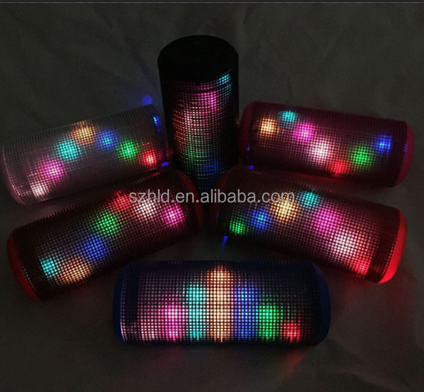 Pulse Lighting Show Bluetooth Speaker with Bluetooth/SD,TF card/Audio in/FM radio function