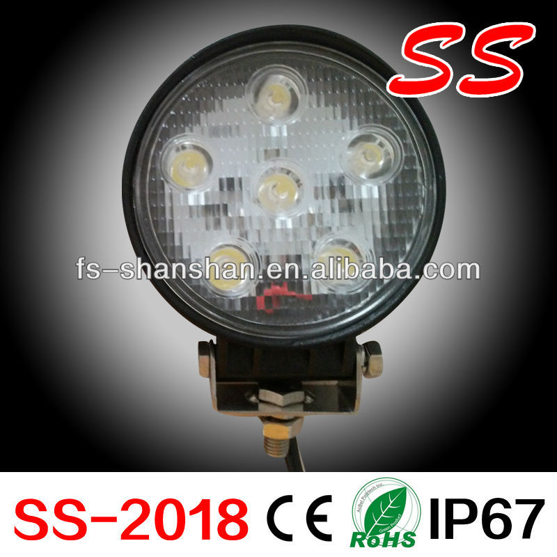 round LED light Bar 4.5 inch Epsitar 18 Watt,super bright,work light,for Off road,garden,yacht,mining,military,SS-2018